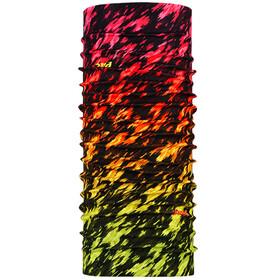P.A.C. Original Loop Sjaal, zwart/bont